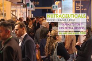 NUTRACEUTICALS Europe Summit & Expo, cierra su primera edición con satisfacción generalizada de congresistas, visitantes y expositores.