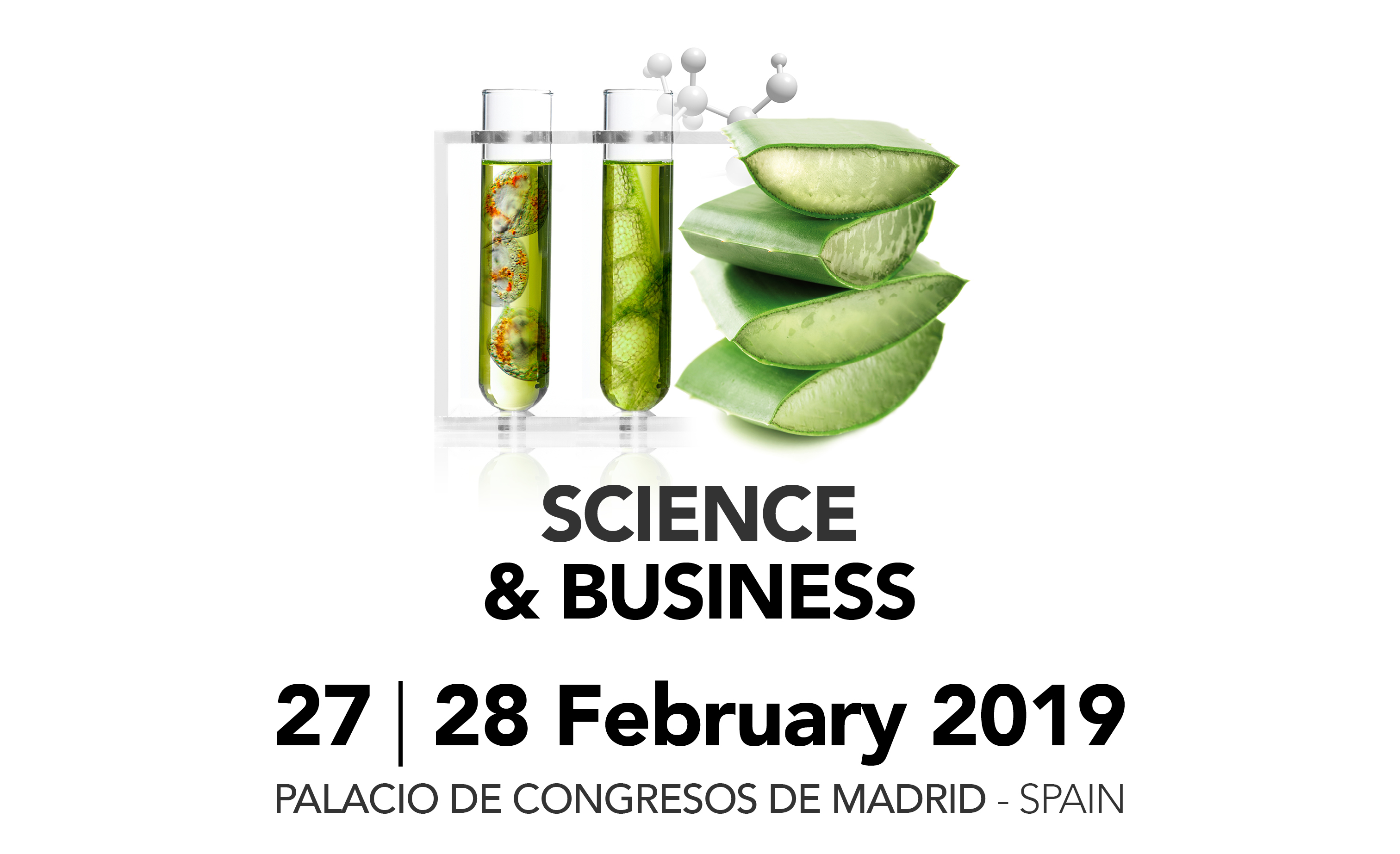 Nutraceuticals Europe – Summit & Expo launches its third edition to be held on the 27 and 28 of February 2019 in Madrid
