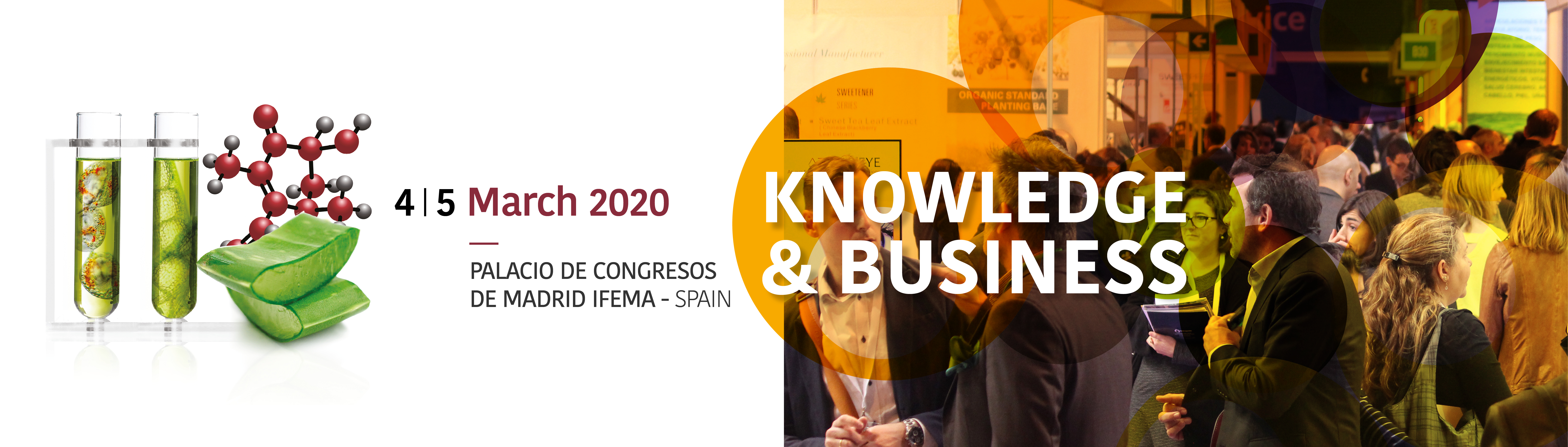 NUTRACEUTICALS Europe – Summit & Expo 2020: 100% of previous fair exhibition space already full